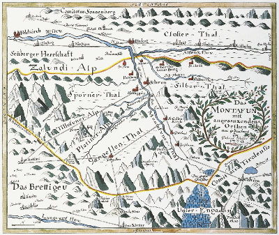 Vorarlberg Karte Berge.Vorarlberg Chronik
